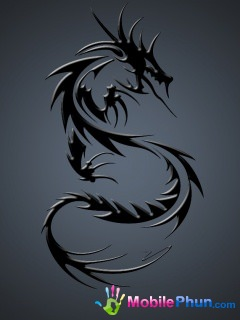 Dark Dragon Wallpaper