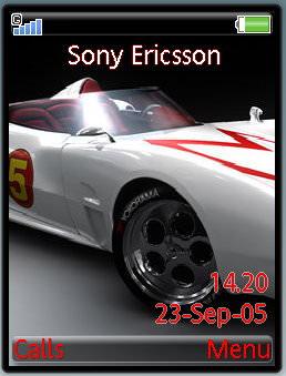 White Racing Car Theme