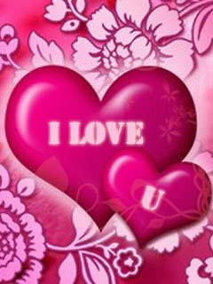 Download I Love You Heart Wallpaper
