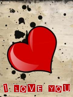Tagged With Free Nokia Mobile Wallpapers T Dash G1 I Love You Message Wallpaper