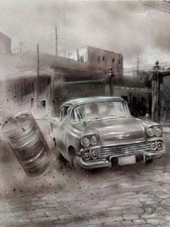 Old Fashion Car Wallpaper