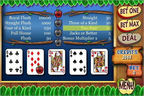 Fat Free Video Poker 91