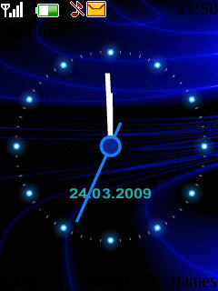 Animated Clock 2 Theme