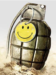 Peace Grenade Wallpaper