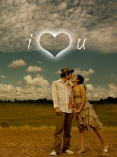 I Love You Couple Wallpaper