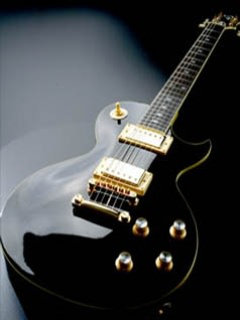 Black Beauty Gibson Wallpaper
