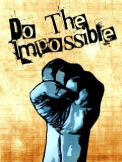 Do The Impossible Wallpaper