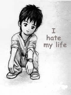 I Hate My Life Wallpaper