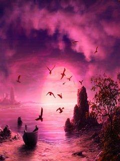 fantasy_Purple Sky