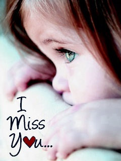 I Love U cute Baby Wallpaper : Download I Miss You Wallpaper - Mobile Wallpapers - Mobile Fun