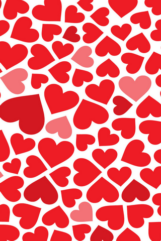 This Red Hearts Pattern Iphone Wallpaper Is Compatible For IPhone 3G S 4G 4 4srate It If U Like My Upload