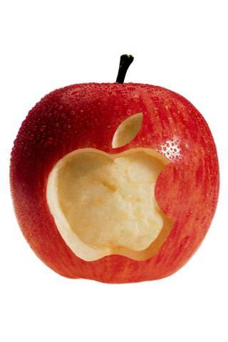 Juicy Apple Iphone Wallpaper Mobile Fun