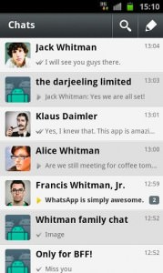 WhatsApp Messenger 2.8.7326