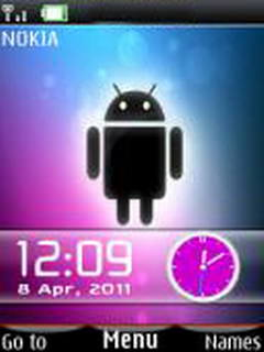 Android Dual Clock