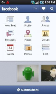 Facebook for Android 1.6.3