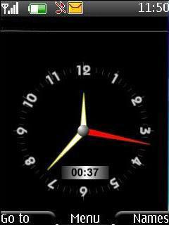 Download Swf Analog Clock S40 Theme – Free Nokia Themes