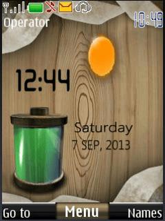 battery live clock