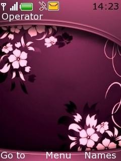Dark Pink Abstractsz