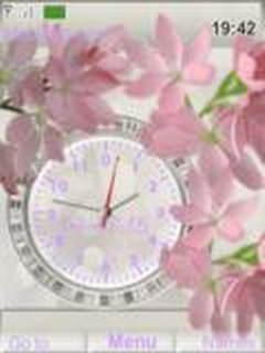 Flores Clock