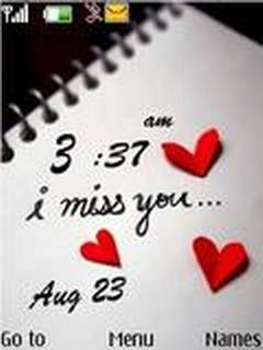 Miss U Clock