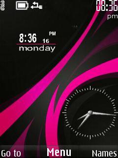 Nokia Abstract Clock Theme