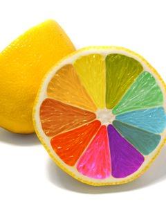 colourful lemon