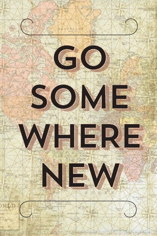 Go Some Where New