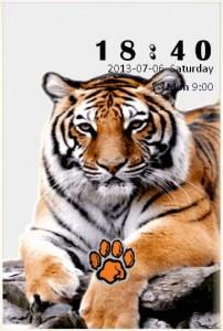 Tiger S4 Theme for Go Locker