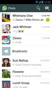 WhatsApp Messenger 2.11.109