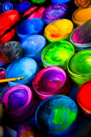Download Paint Colors Baskets Iphone Wallpaper Mobile