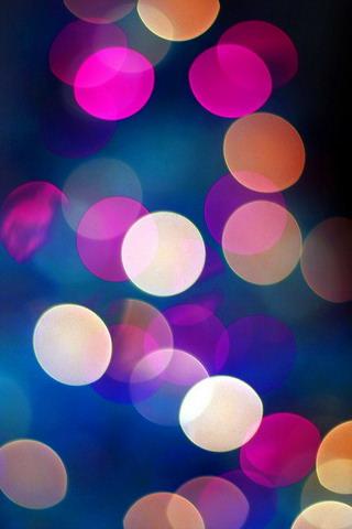 Download Colors Bubble Lights Iphone Wallpaper Mobile