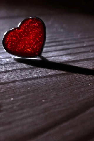 download red heart love iphone wallpaper mobile