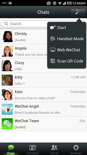 Download WeChat For Android Phones V 4.5.1