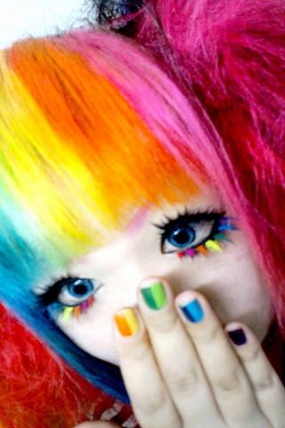 Rainbow chines girl
