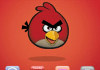 Red Angry Birds For Android Theme
