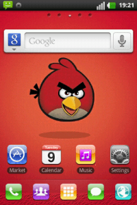 Angry Birds Theme for Go Launcher EX