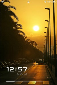 LS Sunset iPhone 4 theme