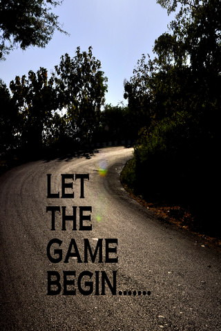 Download Let The Game Begin iPhone Wallpaper - Mobile
