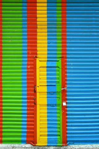 Colors shop shutters