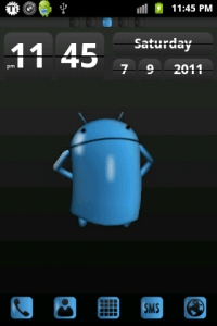 Android Gloss Theme for Go Launcher EX