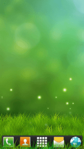 Abstract Grass Theme for Go Launcher EX